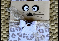 Go Wild Cat Treat Bag| Stampin' Up! Ann's PaperWorks Ann Lewis Stampin' Up! (Aus)|