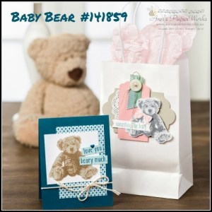 Baby Bear Stamp Set 2016-17 Stampin' Up! Catalogue! Ann's PaperWorks Ann Lewis Stampin' Up! (Aus)| online store 24/7