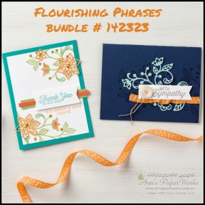 Flourishing Phrases Stamp Set and Bundle 2016-17 Stampin' Up! Catalogue Ann's PaperWorks Ann Lewis Stampin' Up! (Aus)| online store 24/7