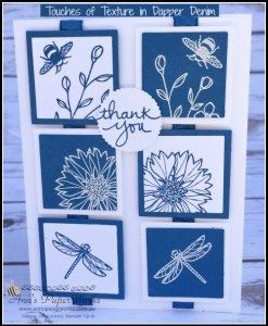 Global Stampers Project, Touches of Texture in Dapper Denim, Ann's PaperWorks Ann Lewis Stampin' Up! (Aus) online store 24/7
