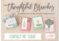 Thoughtful Branches Bundle| Ann's PaperWorks Ann Lewis Stampin' Up! (Aus)|