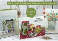 "September Technique Teaser Class - ""Best of the Best"" Jar of Love Bundle, 2016-17 Stampin' Up! Catalogue Ann's PaperWorks Ann Lewis Stampin' Up! (Aus)  online store 24/7"