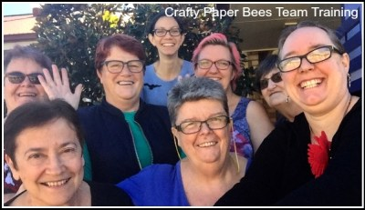 Crafty Paper Bees Crafty Party team training day, Join Stampin' Up!, Starter Kit, become a Stampin' Up! demonstrator