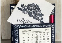 Floral Boutique Calendar Note Holder, Ann's PaperWorks| Ann Lewis| Stampin' Up! (Aus) available from my online store 24/7