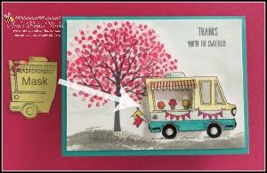 Tasty Trucks Stamp Set, Sheltering Tree Stamp Set, Global Stampers Challenge, Stampin' Up! Ann's PaperWorks, Ann Lewis, Stampin' Up! (Aus) Stampin' Up! 2017 Sale-a-Bration  online store