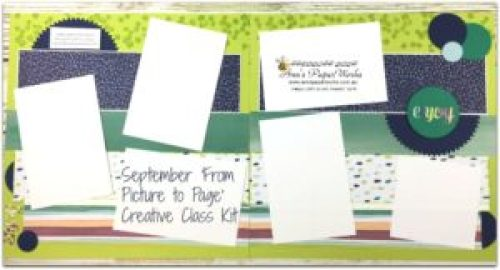 Stampin' Up! classes, September Scrapbooking Kit, Naturally Eclectic Designer Series Paper, Stampin' Up! Ann's PaperWorks Ann Lewis Stampin' Up! (Aus) Scrapbooking/Project Life class, Stampin' Up! 2017-18 Annual Catalogue