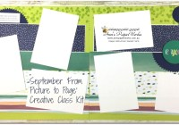 September Scrapbooking Kit, Naturally Eclectic Designer Series Paper, Stampin' Up! Ann's PaperWorks Ann Lewis Stampin' Up! (Aus)|Scrapbooking/Project Life class, Stampin' Up! 2017-18 Annual Catalogue