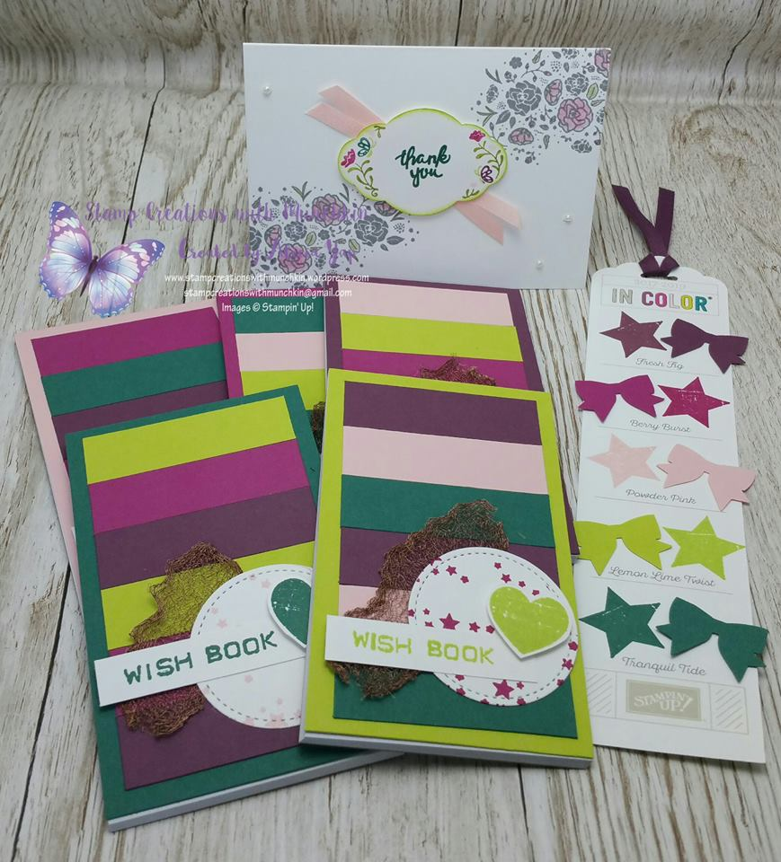 Alicia Yap project, Stampin' Up! 2017-18 Catalogue Ann's PaperWorks  Ann Lewis  Stampin' Up! (Aus) online store 24/7