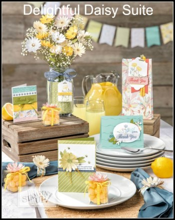 Delightful Daisy Suite by Stampin' Up!, Stampin' Up! 2017-18 Catalogue Ann's PaperWorks| Ann Lewis| Stampin' Up! (Aus) online store 24/7