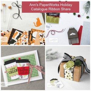 ribbon share 1-4 metres of each ribbon, Christmas Holiday Catalogue, Stampin' Up!, Stampin' Up! 2017 Christmas Holiday Catalogue Ann's PaperWorks| Ann Lewis| Stampin' Up! (Aus) online store 24/7