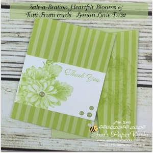 Heartfelt Blooms Stamp Set by Stampin' Up!, coloured by Blender Pens, one of the new Distinktive range, True Gentleman Suite, Stampin' Up! Ann's PaperWorks, Ann Lewis, Stampin' Up! (Aus)|Stampin' Up! 2018 Occasions Catalogue| online store 24/7 http://bit.ly/2A2JVDr