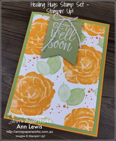 Healing Hugs Stamp Set , Distinktive Stamps by Stampin' Up! Stampin' Up! 2018-19 Catalogue Ann's PaperWorks| Ann Lewis| Stampin' Up! (Aus) online store 24/7