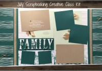 Double Page Layout, Family, multi photo layout featuring Lakeside Framelits, Large Letters Framelits, scrapbooking, kit, Stampin' Up! Ann's PaperWorks Ann Lewis Stampin' Up! (Aus)|Scrapbooking/Project Life class, online store