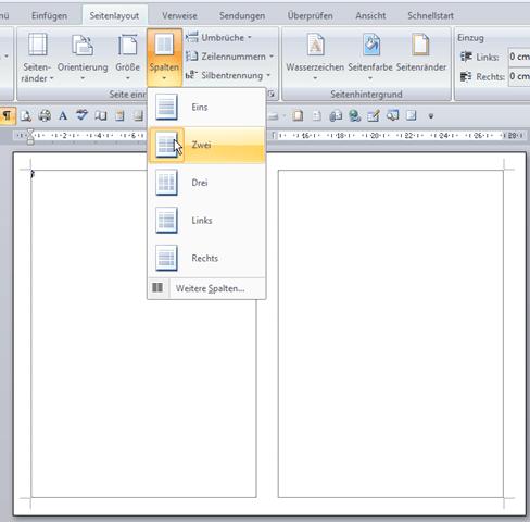 Eine Grukarte in Word 20072010 erstellen  SenecfeWeblog