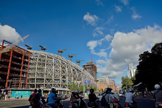 大聯盟官方表示,台北大巨蛋若能順利建成,能為台灣申辦WBC爭取到很好的資格。(photo by DEL HUNG on Flickr – used under Creative Commons license)