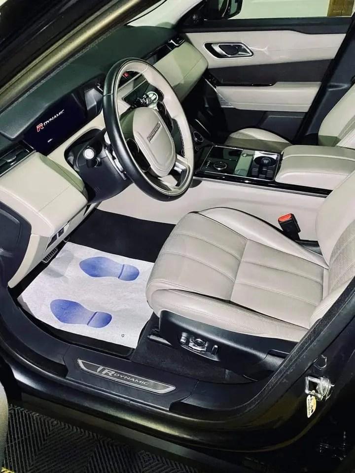 nettoyage intérieur range rover velar chez full excellence autos 44