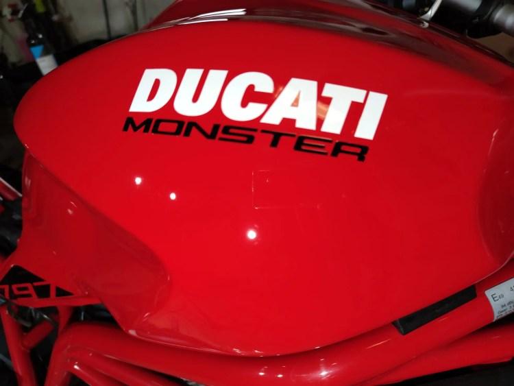 résultat apres lustrage ducati par jv's detailing auto 76