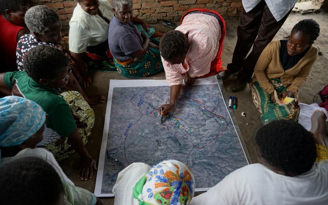 Mapeo participativo de servicios ecosistémicos