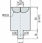 rolav die model 2 rvt55