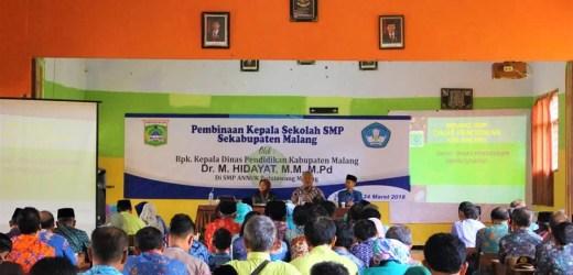 Konferensi Istimewa Kepala SMP se-Kabupaten Malang di SMP An-Nur