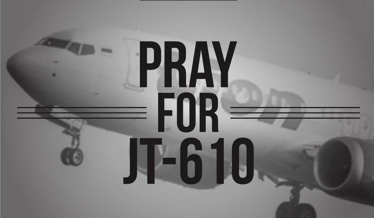 Pray For JT-610