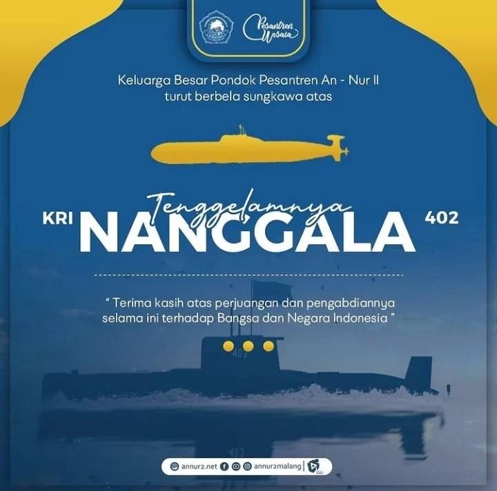 nanggala, SYUHADA NANGGALA 402, Pondok Pesantren Wisata An-Nur II Al Murtadlo