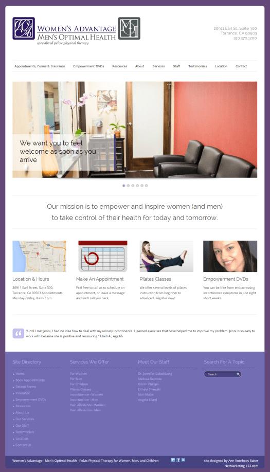 Women's-Advantage-new homepage