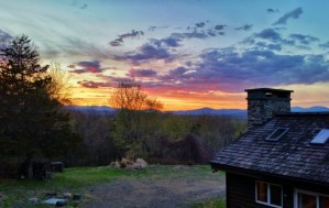 Women At Woodstock sunset
