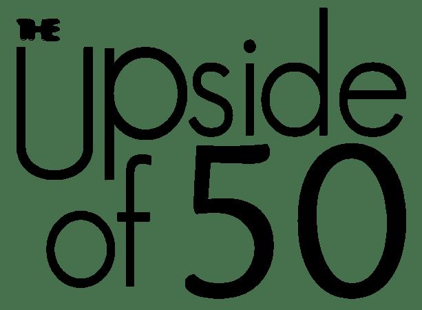 upside of 50 logo