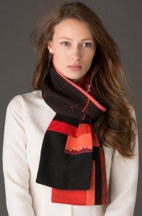 One-of-a-kind scarves | Pieced Japanese vintage silks ...