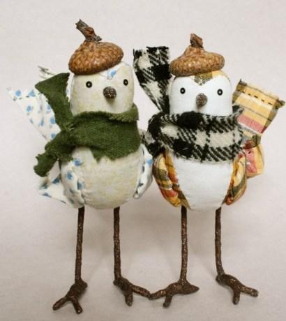 bundled birds