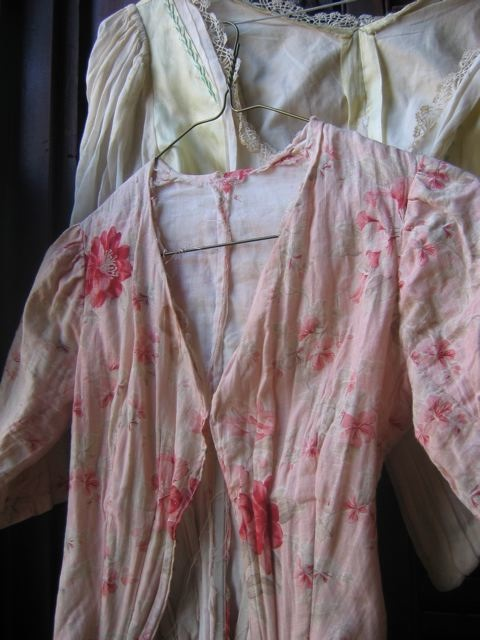 antique pink bodice