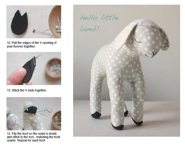 lamb pattern page