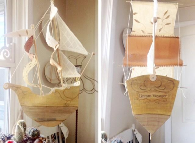 kileen paper mach ship