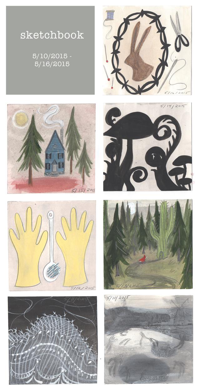 sketchbook - week 13