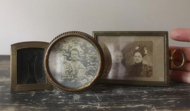 antique mini frames