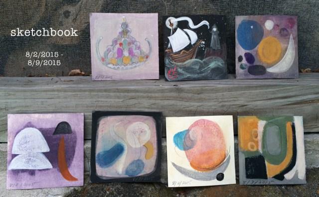sketchbook : week 25