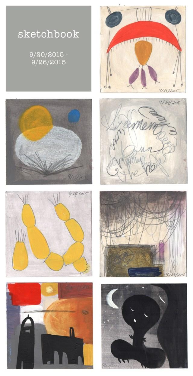 sketchbook : week 32