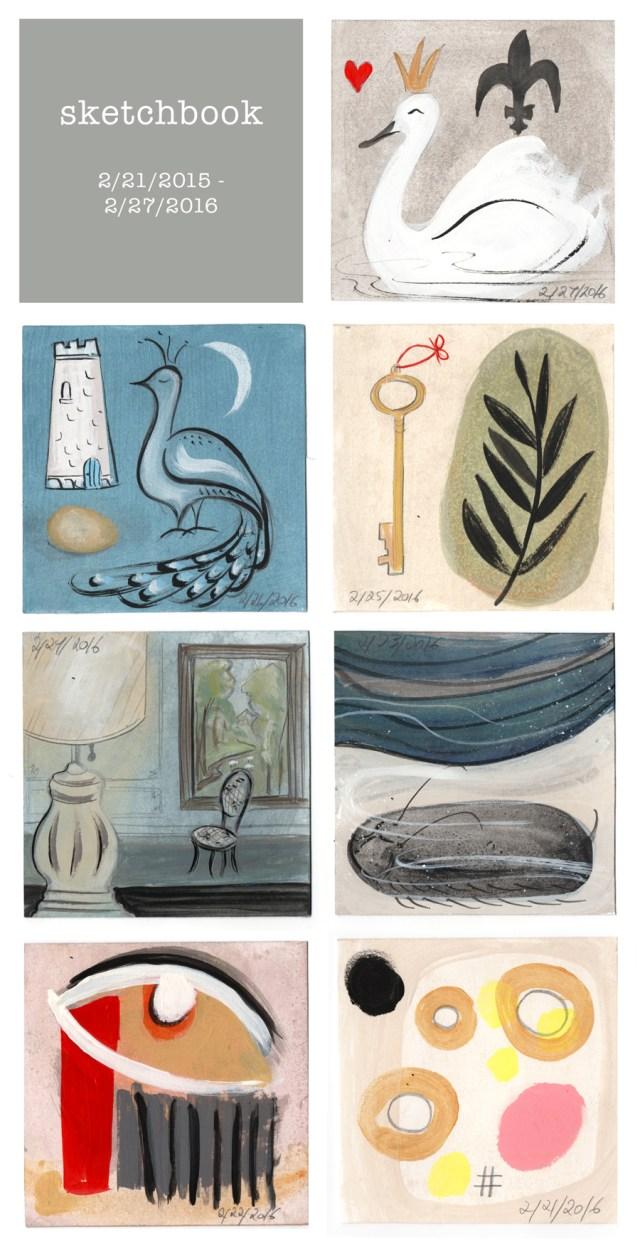 sketchbook : week 50