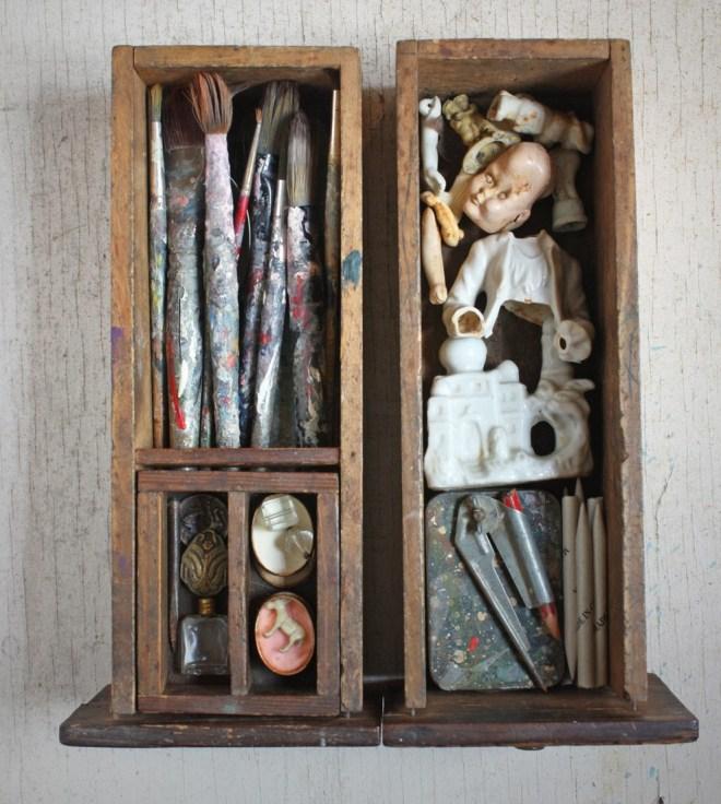 paint brush drawer