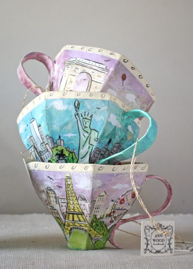 ann wood anthropologie teacups