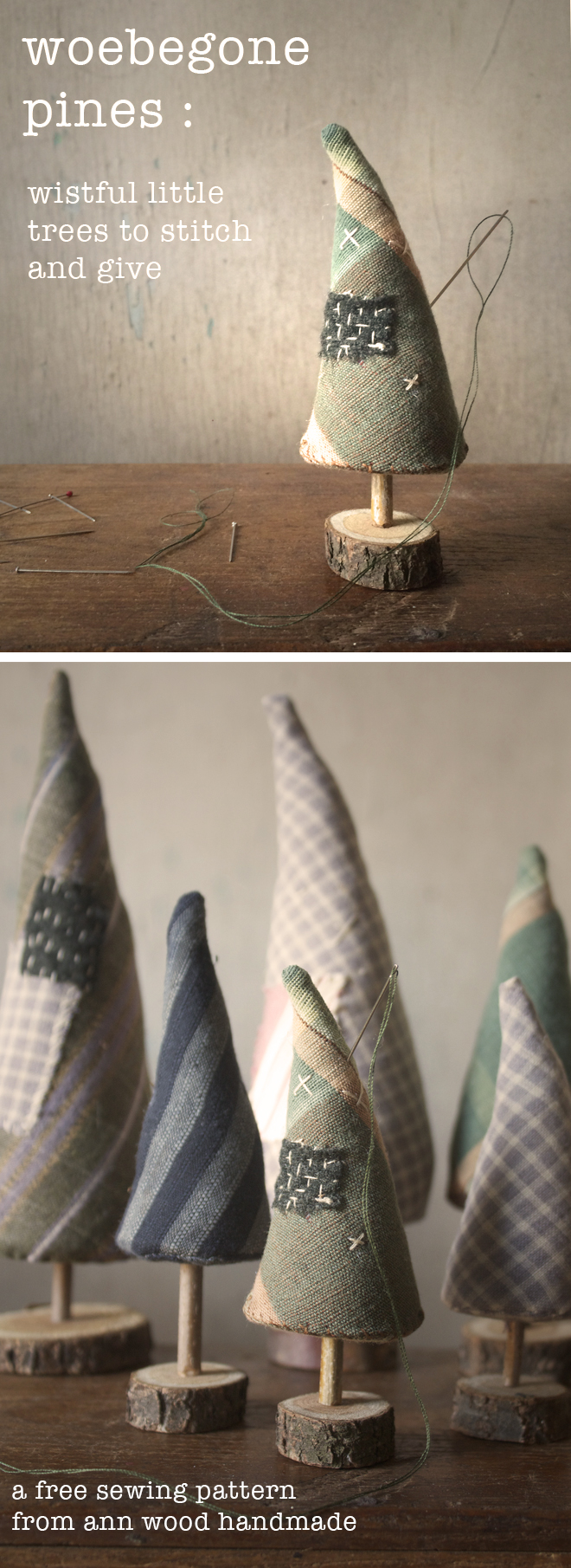 woebegone pines : a sewing pattern