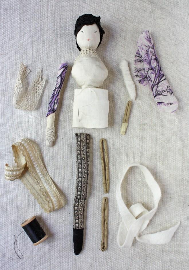improvisational doll making
