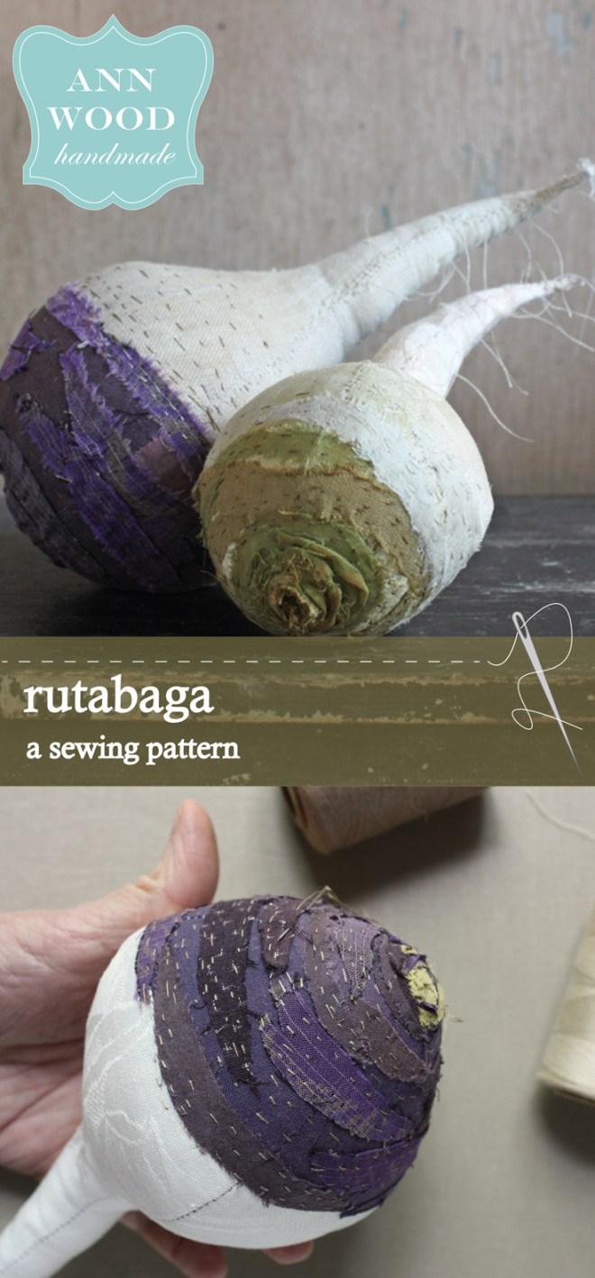 rutabaga sewing pattern