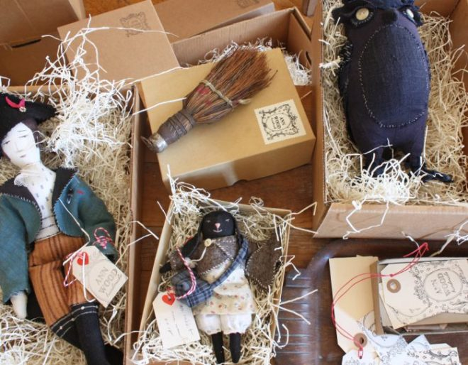 ann wood handmade : packaging