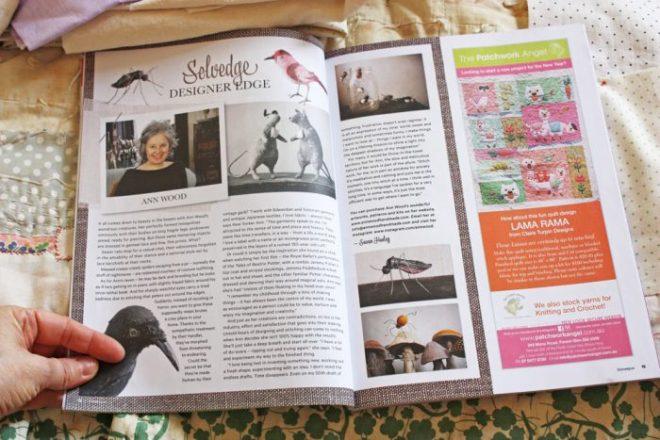 homespun magazine : ann wood