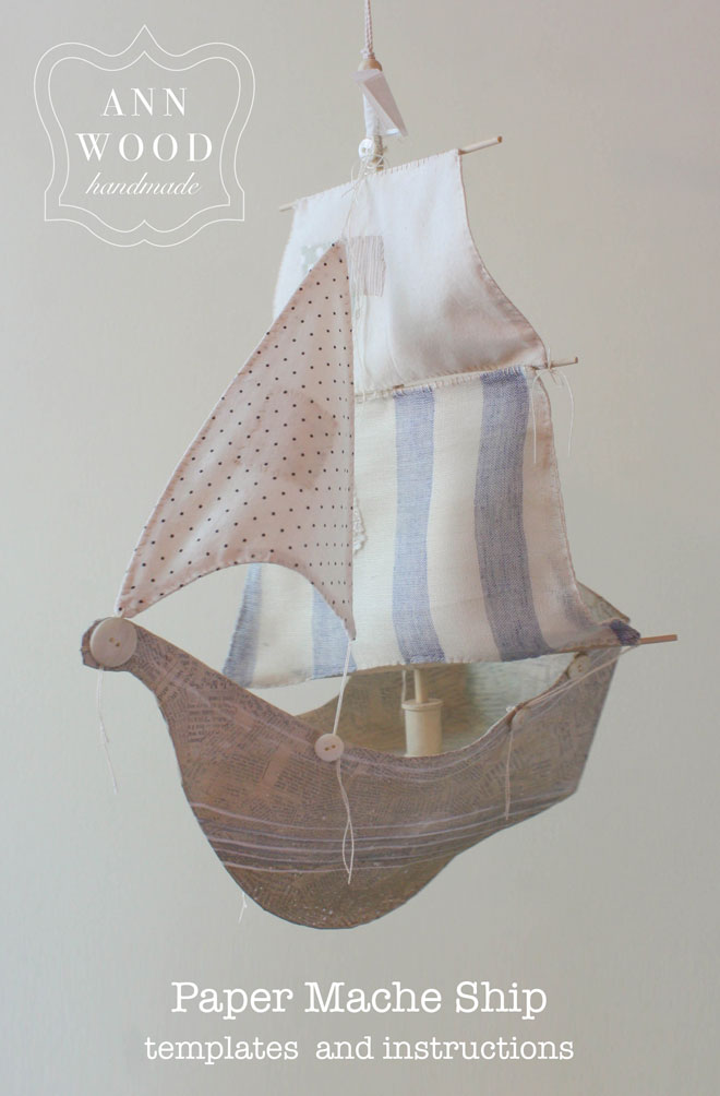 paper mache ship print edition