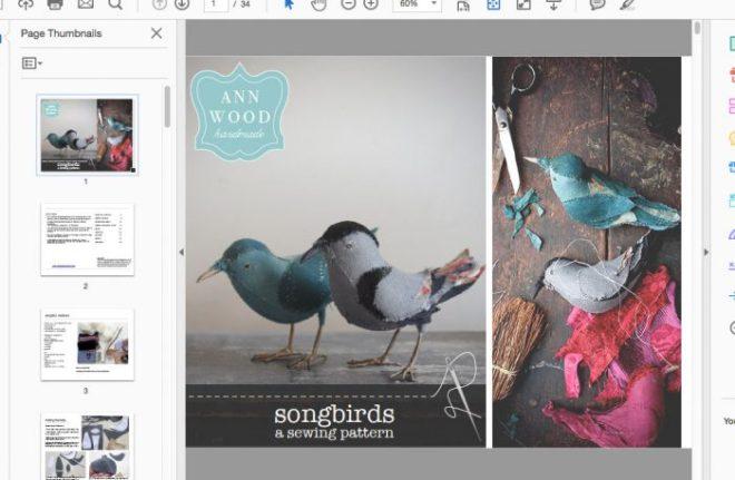 songbird pattern progress