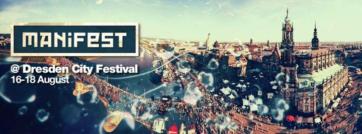 Für lau und bei hoffentlich schönem Sommerwetter: Das Manifest Festival auf dem Dresdner Stadtfest; Foto: PR