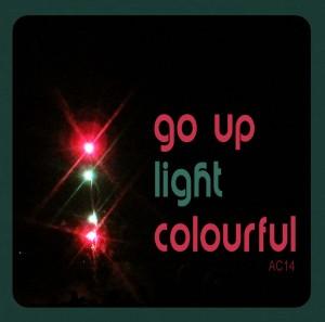 go up light colourful